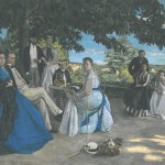 Reunion d -famille Frederic Bazille, 1867